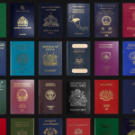 Meet Passport Index, a collection of passport designs and their rank compared to other countries
